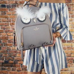 🔽 Kate Spade Star bright OWL backpack Toni Bag